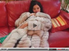 Babe in Fur Coat and Boots Gets Fucked