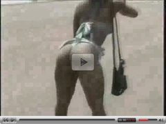 Amateur Public Nudity At Kappa Beach #Part 1