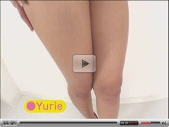 YURIE close-up japanese pussy play!!