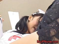 Aino Kishi Asian nurse spreads her legs part5