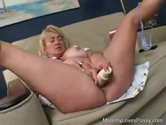Young and old lesbians use hands, dildo, and tongues on pussy