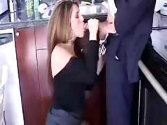 Brunette Isabella Soprano is at work and gets a good hard fuck