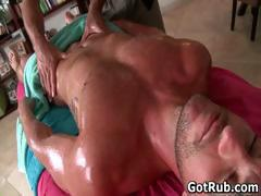 Super sexy guy gets fine body massages part6