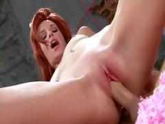 A Flintstones porn parody featuring juicy Wilma's lookalike Hayden Winters