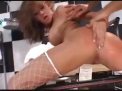 Brunette Tory Lane gets that cock to fuck every hole she has