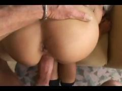 Hot blonde Sharka gives head and gets a nice POV ass fucking
