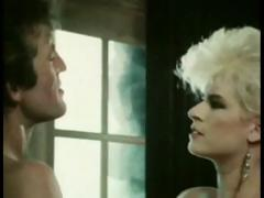 A super-hot 1985 porn video featuring blond vixen Lois Ayres