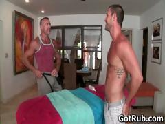 Super sexy guy gets fine body massages part4