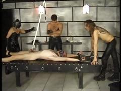 This den of debauchery abuses and tortures their hot slaves