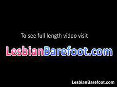 Hot blonde lesbians licking and kissing part2