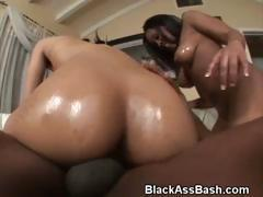 Black Booty Threesome