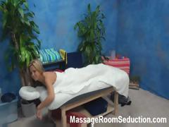 Blonde goes in for a massage and is filmed on hidden cam getting fucked