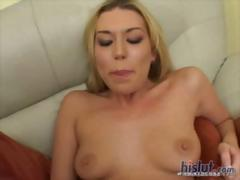 Tiffany Rayne take a big black cock deep up her round ass