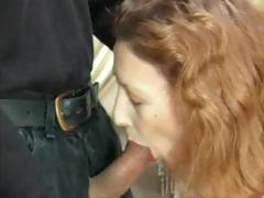 Mature mom from Spain sucks young cock and then gets fucked in the ass