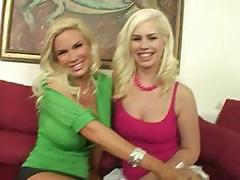 Mom Diamond Foxxx And Daughter Tara Lynn Foxx 3Sum