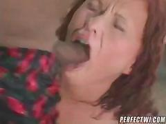 Bubble butt Katja Kassin takes on a large black cock to fuck