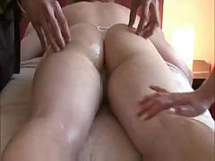 Abigaile Johnson and Asian Guy are in to intimate massages