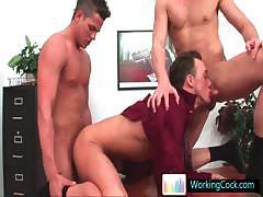 Kirk in steamy gay threesome part4