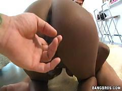 Gemini is an ebony babe who likes to fuck big white cocks