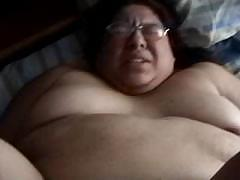 Alma Smego is one horny fat bitch who gets fucked from behind