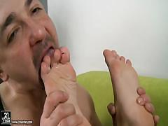 Girl With Sexy Feet Is Anal Sex Fanatic