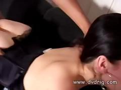 Demi Allure invites over a young stud because she is so horny