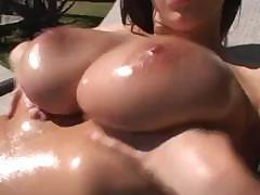 Gianna Michaels has huge tits and wants cock in her mouth and ass