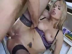 Sexy wife invites her boyfriend over for some serious fucking