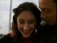 Sibel is so horny she grabs the first guy she sees to fuck