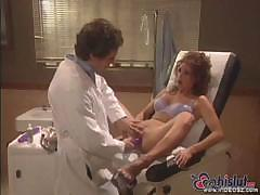 Beautiful Brunette Star E. Knight Gets Her Doctor Nurse