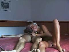 Blonde Magdalena lays out on the bed waiting to get fucked
