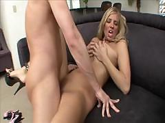 Jordan Kingsley gets a lot of dick for her wet, hot pussy