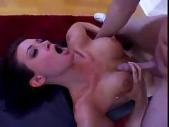 Tory Lane is playing with herself before sucking on a hard cock