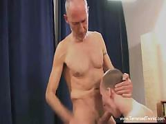 Daddys huge cock in young twink