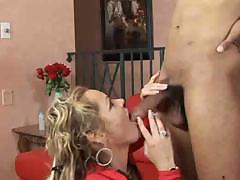 Mature granny getting it from her friend with the big dick