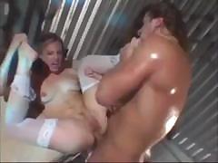 Nurse wants to let this sex freak go so she can have a taste