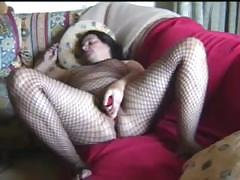 Fat girl wants the entire world to see her passionate pussy toying