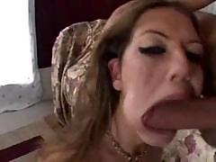 Alicia Alighatti is face-fucked with tremendous veiny cum-stick