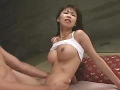 Delicious button worker does young and hairy Japanese beaver