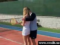 Anouk Gets Fucked At The Tennis Court
