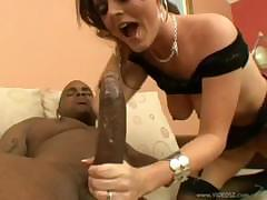 Sophie Dee`s arrogant pussy fights Rico`s enormous dick