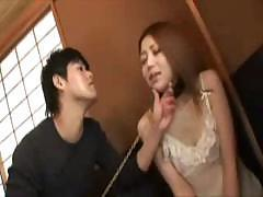 Sweet Asian babe gives her permission to use her wet pussy