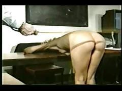 Awesome naked German female wants to be punished with teacher`s dick
