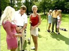 Milf Anal Orgy at Golf Club