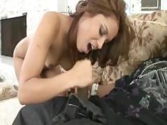 Cheating Wife Fucks BBC Husband Watches