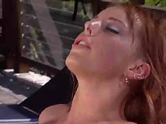 Wet blowjob and fucking hot redhead