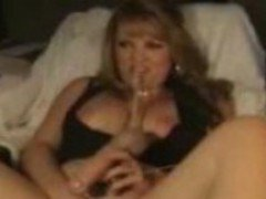 Milf Plays With Dildo On Her Webcam