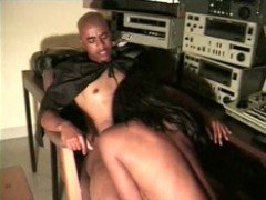 Black chick and black dick
