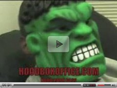 Hulk Get his Dick Sucked by homless woman for sald dreesing