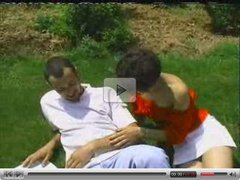 MILF THREESOME IN RUSSIAN PARK - JP SPL